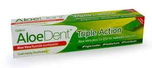 Aloe Dent toothpaste BOGOF (£3.85 for 2) plus £3 delivery (free if order over £10) @ Nutrition Centre