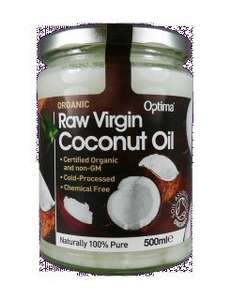 Optima Raw Virgin Organic Coconut oil 500ml £7.00 plus £3 delivery (free over £10) (RRP £13) @ Nutrition Centre