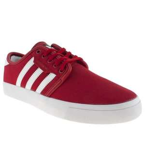 Flash sale at branch309.co.uk -  Adidas seeley in red £20