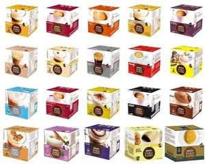 Nescafe Dolce Gusto Coffee Pods/Capsules - £3.77 per box @ Tesco