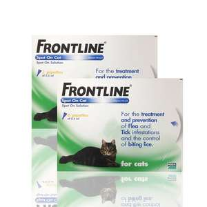 Frontline Flea treatment for cats £10.99 at Vet-Medic