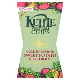 Kettle Vegetable Chips (125g) was £2.48 now 2 for £3.00 @ Asda