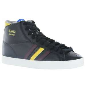 Adidas Basket Profi Lo black high top trainers in SIZE 8 ONLY £23.09 at  topbrandsinternational