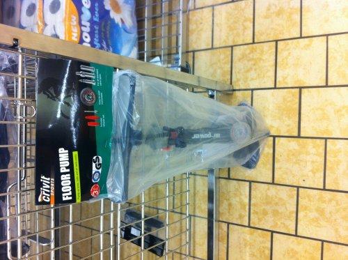 Floor pump 4.99 at Lidl including 3 year warranty.