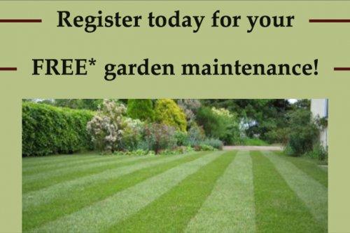 FREE GARDEN MAKEOVER/maintenance