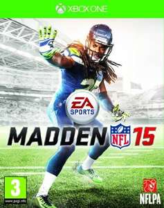 Madden NFL 15 Xbox one digital download from CDKeys + 5% off £34.99