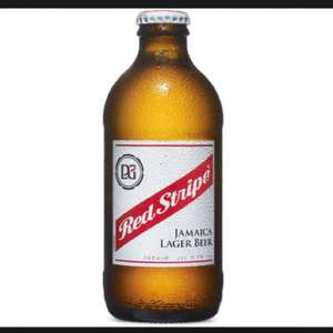 Red Stripe 300ml (large stubby bottle) 69p Home Bargains