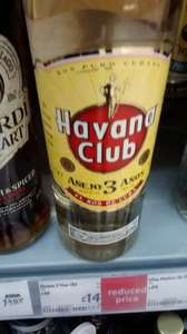 havana club 3 yrs 70cl rum £14 @ Asda