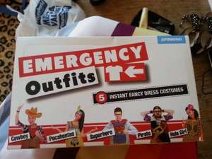 Emergency Outfits: 5 Instant Fancy Dress Costumes, Hallowe'en Or Hen Party £1 Instore At Poundworld