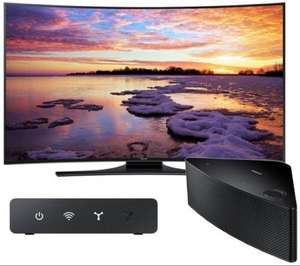 "SAMSUNG UE55HU7200 Smart 4k Ultra HD 55"" Curved LED TV with Wireless Multi-room Speaker Hub & Speaker £1699 @ Currys"