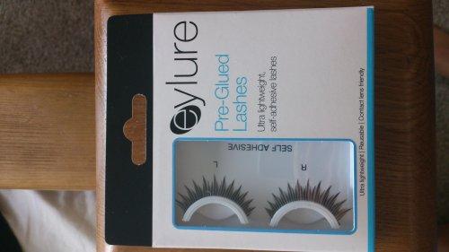 Eylure Pre Glued Eye Lashes 0.79p @ Home Bargains