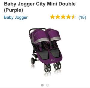 Baby jogger city mini double at Amazon £349