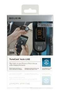 Belkin In Car Tunecast Auto Live FM Transmitter Charge and Play for iPhone 4 and 4s £5.99 instore @ B&M