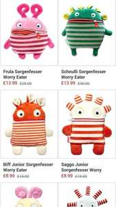 worry eaters £8.99 @ Zulily