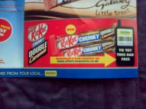 Free Voucher to try a KitKat Chunky Double Caramel