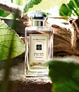 Free Jo Malone Wood Sage and Sea Salt 'scented card'