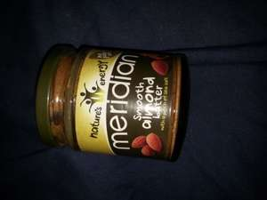 meridian almond butter 170g £2 at Tesco