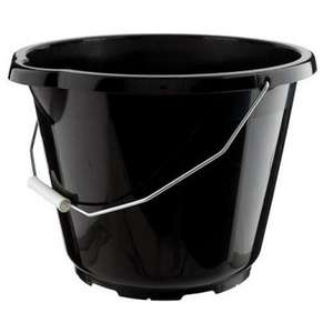 Black Bucket 12 Litres £1 @ Poundland