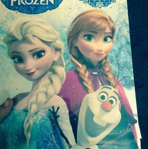 Frozen advent calendar £1 @ Poundland