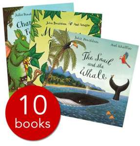 Julia Donaldson Story Collection 10 books £10 Free delivery @ The Book People