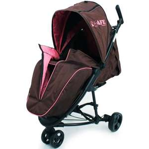 isafe view 3 baby stroller reduced to £59.99 bonus has a iPad viewing pouch @ baby-travel.uk
