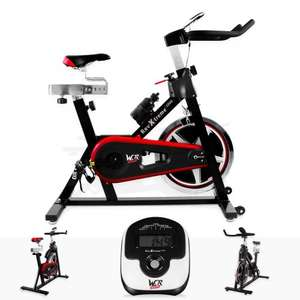 Aerobic Training Cycle Exercise Bike Fitness Cardio Workout Home Cycling Machine £119.99 @ Ebay/ we-r-sports