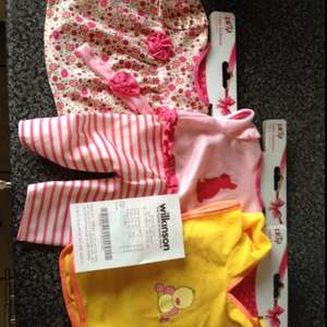 Wilkos baby doll clothes down to 50p a set!