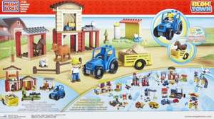 Mega Bloks Blok Town Buildable Farm Was £19.99 Now £15.99 (auto 20% discount) + Free Standard Delivery /w code + Possible 18% Quidco ! @ The Works
