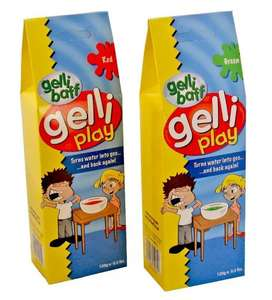 Gelli Play (Gelli Baff) 120g in Red and Green - £1.00 @ Poundworld