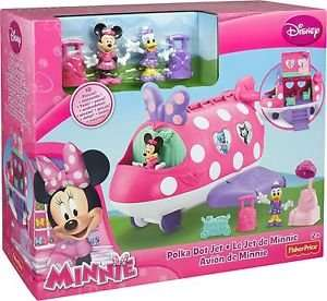 Minnie Mouse Polka Dot Jet £17.99 @ Argos Ebay Outlet