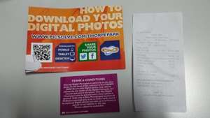All Inclusive One Day Digital Photopass for Thorpe Park (via PicSolve.com) for £20