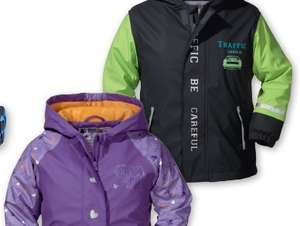 kids waterproof jacket (12months _ 8yrs)£7.99/ £12 with waterproof trouser @ Lidl on 22sep