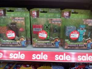 Minecraft Figures £6 in Asda