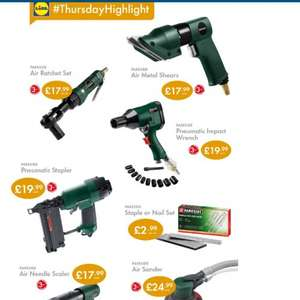 Lidl DIY deal starts Thursday 18th September, some great deals from £2.99