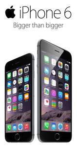 iPhone 6 and 6 plus tariffs - EE  24 month £40.99 contract, and £100 upfront (£1083.76)