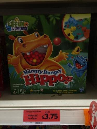 Hungry Hippo's - £3.75 instore @ Sainsbury's