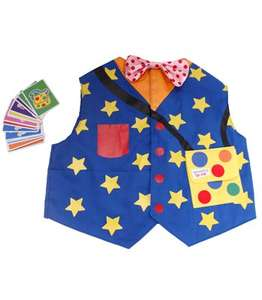 £3.99 Mr Tumble waistcoat and pairs game £6.98 delivered @ kiddicare
