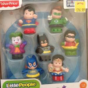 Fisher Price Little People DC Superheroes £12.99 @ smyths toys