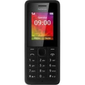 Nokia 106 for £14.99 (T-Mobile) or £19.99 (EE) including £10 top-up @ Argos