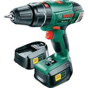 Bosch PSB 1800 LI-2 18v lithium-ion cordless combi drill. Online £129.99 in store £54.99 Homebase
