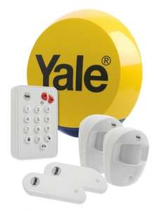 Yale Easy Fit Wireless Standard Home Intruder Alarm Kit (Free Toolbox) - £109.98 - eBuyer