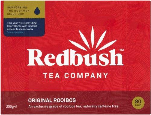 Redbush Original Rooibos Tea Bags (80) Pack (200g) was £2.79 now £1.79 @ Morrisons