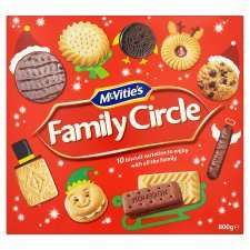 800g McVitie's Family Circle £3 @ Tesco or Sainsbury's