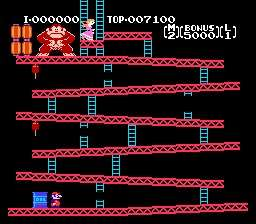 Play the Retro Gaming Favourite Donkey Kong - Online, FREE