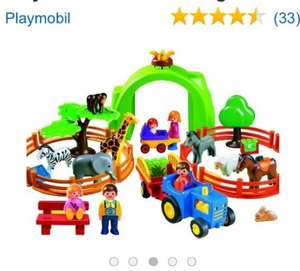 Playmobil 1.2.3 6754 Large Zoo £26.24 @ Argos