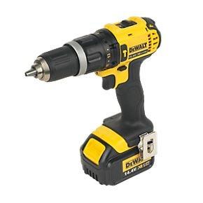 DeWalt 14.4V 3Ah (x2) Li-Ion Cordless Combi Drill for £90 @ Screwfix