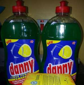 Danny Lemon Power Washing Up Liquid, 1500ml, Instore At Poundland £1