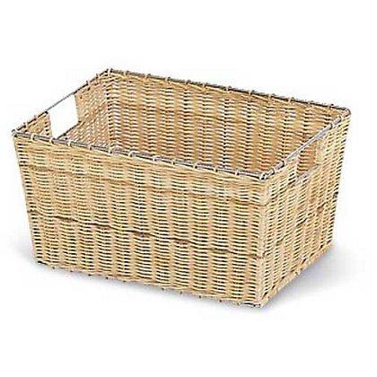 Rattan Shelf Basket - Natural  £2.43 at Homebase