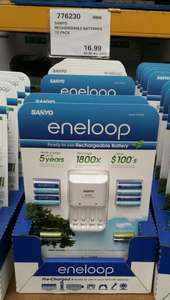 Best rechargable batteries - Best price (Eneloop set £20.38 @ Costco)