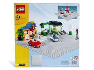 Cheap Lego building plates (grey, green, and blue) at John Lewis + Free click and collect - £5